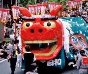 毎年5月19〜21日に開催される「酒田まつり」は、庄内三大まつりの一つで慶長14(1609)年から続いている