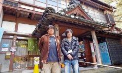 映画を活用したまちの盛り上げに尽力しているNPO法人ロケーションボックスの久保和彦さん(左)と大沼宏さん