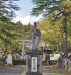 松平定信を祭神として祭る南湖神社。日本資本主義の 父と呼ばれる渋沢栄一の援助を受けて設立された