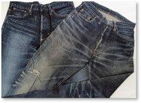 日本綿布のジーンズには日本の伝統的な技術を用いることで、海外のメーカーにはない独自の風合いや表情がある。これも人気があるポイントの1つだろう