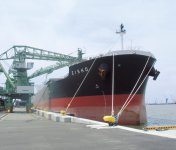 復旧した石巻港