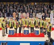 1200 人以上が集まり盛大に開催された今年1 月の新春会員の集い(新年賀詞交歓会)