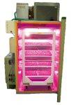 LED花芽誘導装置の「バーナリくん」。今では、LED事業はやまと興業の売上の1.5割を担っている