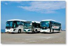グループのバス会社5社で三重、愛知、岐阜に乗合バス、貸切バス計1177台を保有する
