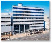 三交不動産の賃貸ビルである三重会館。津市の中心部に位置し、三重交通グループホールディングスも入居する