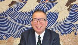 「舞鶴のブランド力を向上させていきたいですね」と語る舞鶴観光協会副会長の森口さん