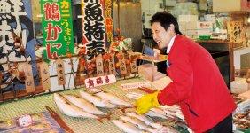 「新鮮な舞鶴の魚介類を味わっていただきたいですね」と語る魚たつの裕泰さん