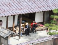 広さ170㎡の隠居所は、日本庭園が美しい風情ある建物。普段は無料休憩所として開放されている