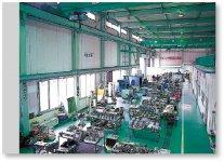 宮城ヤンマーの本社・工場。事業部を本社に併設し、整備・保守・メンテナンスなど万全のアフターフォロー体制を整えている