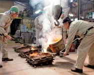 利長公の産業振興策により高岡の鋳物産業は始まった。明治時代には、万国博覧会で世界中から賞賛された