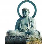 日本三大仏に数えられる高岡大仏。地元の銅器製造技術の粋を集め、30年の歳月をかけて完成し、高岡のシンボルとなっている
