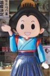 富岡のイメージキャラクター「お富ちゃん」