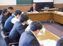富岡・渋川・藤岡・沼田の4商工会議所では定期的に管理職同士で情報を交換している