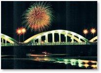 7月に行われる銭形まつり。銭形よさこい踊りコンテスト、花火など多彩なイベントが実施される