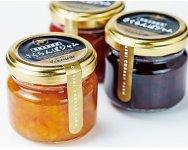 最高級品種の「月山錦」「南陽」「サミット」の味と色を生かした人気の「さくらんぼジャム」