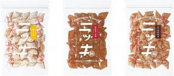 昭和32年創業の宮川製菓(東京・墨田区)の原点となる味を、現代人向けにデザインしたニッキあめ