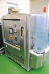 海外輸出時に鮮魚をコーティングするシャーベット氷製造機