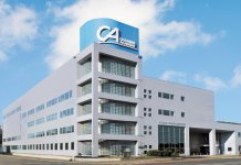 平成4年に新築・移転した札幌商工会議所付属専門学校の校舎