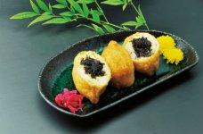 豊川いなり寿司。全体的にふわっとしているのが特徴だ