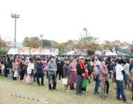 B-1グランプリin豊川の様子。58万の来場者を記録した