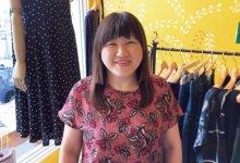 「これからもお客さまに喜ばれる服を提案したい」と語る後藤加奈子さん