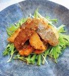 牛肉と長芋の中華風香り炒め
