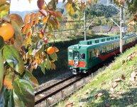 南海電鉄の特別列車「天空」。橋本駅から極楽橋駅までで運行されている。この列車に乗るために、橋本駅で乗り換える人も少なくない(写真提供=南海電鉄)
