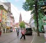 ドイツのフライブルク市。環境都市の手本といわれる