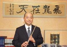 藤井隆太社長。「音楽というのはオンリーワンの演奏をしないと誰も聴いてくれない。企業も同じ、オンリーワンのものをつくらないといけません」