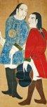 鈴鹿出身の大黒屋光太夫(1751~1828)。江戸時代にロシアに漂流し、西洋文化を経験して帰国した日本人。井上靖の小説『おろしや国酔夢譚』ではその波乱に満ちた生涯が描かれた