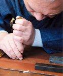 伊勢型紙。着物の柄や文様の染色に使う型紙で千年あまりにわたって受け継がれてきた