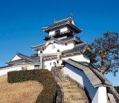 日本初の本格木造で復元された掛川城天守閣
