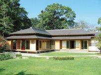 掛川城公園内にある伝統的な数寄屋造りの「二の丸茶室」。将棋の王将戦も行われる(写真提供:掛川市)
