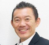 ユーエスマート株式会社代表取締役社長の田口喜啓さんは、「どんなことでも常に前向きに取り組んでいけば、プラスのことが必ず起こると信じています」と笑った