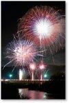 名張川納涼花火大会:70年以上の歴史をもち、名張川新町河畔を彩る近隣地域で最大のにぎわい、集客のあるイベントです(7月末土曜日)