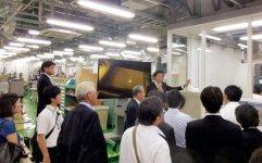東京理科大学葛飾キャンパスでの施設見学会。これと合わせて「ものづくり企業のためのステップアップセミナー」を開催している