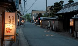 小保宿場町:江戸時代初期、肥前への水運の要所として肥後街道沿いに位置する小保地区の旧柳河藩宿場町