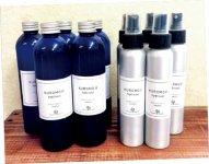 クロモジの間伐材と、湧き水を利用して蒸留したクロモジハイドロゾルは「人・環境・ペット」に配慮した商品です