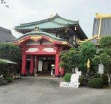 佐野厄除け大師(惣宗寺)。市の中心部に位置し、春日岡とも呼ばれている