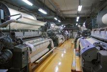 フェイスタオルに換算して1日10万枚を製織する生産ライン