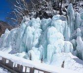 飛騨大鍾乳洞「氷の渓谷」 写真提供:飛騨大鍾乳洞観光株式会社