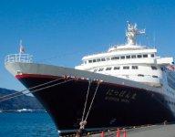 尾道糸崎港では「にっぽん丸」などの大型客船の寄港も可能