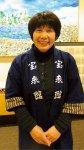 「被災後は全国、海外からも泊まりに来てもらえるようになりました。昨年の台風10号の影響もありましたが、お客さまも少しずつ戻ってきました。W杯という希望を胸に釜石を盛り上げていきます」と快活に語る女将の岩﨑昭子さん