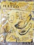 特産品「南部一郎かぼちゃ」を練り込んだすいとんの新商品「HATTO(ハット)」