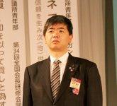 政策提言を担当・日本創生委員会委員長の前田直之氏(酒田YEG)