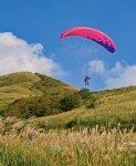 塩塚高原:標高1043mの大草原。四国屈指のパラグライダースポット