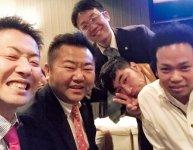 吉田会長と岡山YEGメンバーとの絆は強い