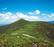 北見山地の最高峰である天塩岳 写真提供:士別市、士別観光協会、士別商工会議所