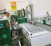 製品管理はバーコードで行っているため、少人数での出荷確認作業が可能に