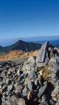 大隅半島中央部に位置する高山郡「高隈山」